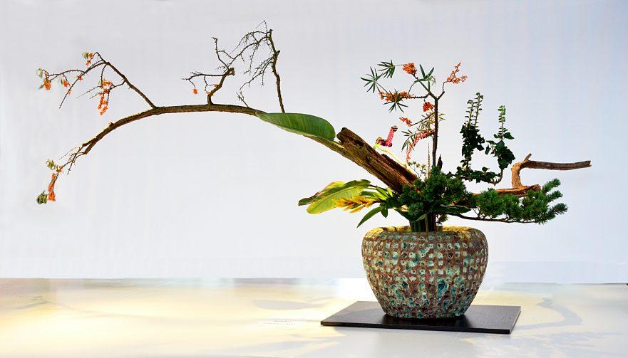 Ikebana, Ikenobo-Schule, Rikka Shinputai