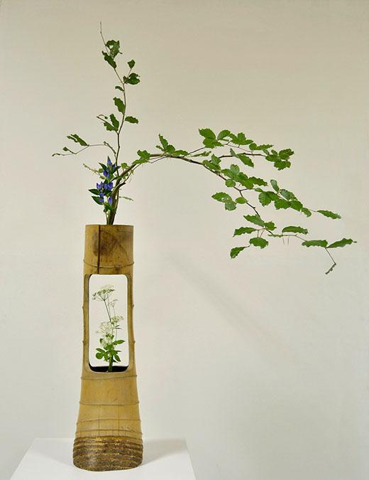 Ikenobo-Schule, ikebana, Nuju Arrangement