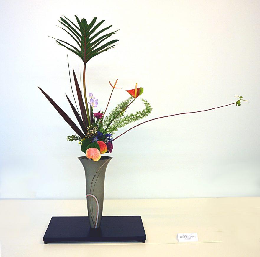 Ikenobo, Ikebana, klassisches Rikka , Pointner-Komoda 2013