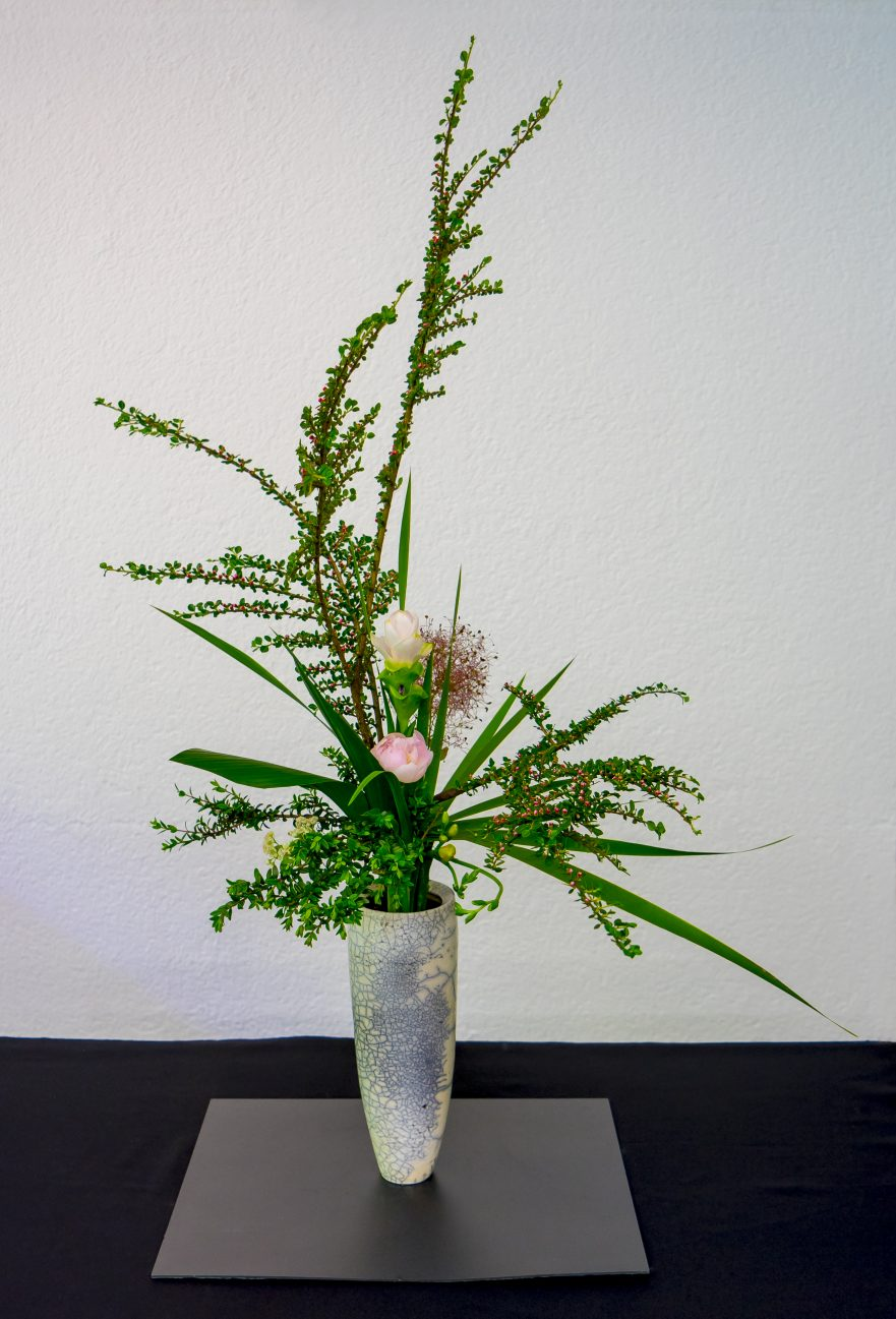 Ikebana, Ikenobo-Schule, Rikka-Arrangement