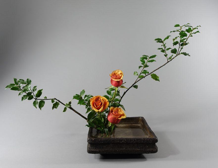 Ikebana, Sogetsu, Moribana