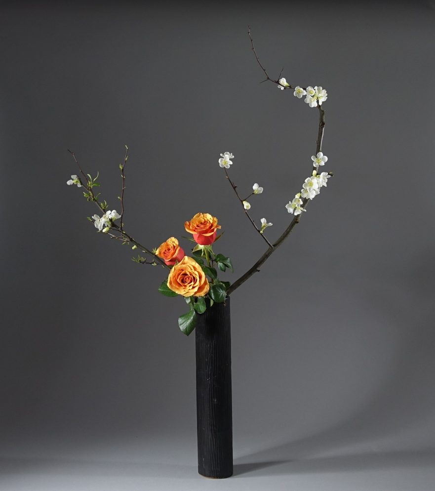 Ikebana, Sogetsu, Nageire