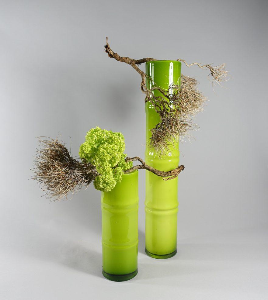 Ikebana, Sogetsu, freies Arrangement (von Kimiko Tabuki)