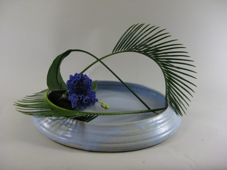 Ikebana, Sogetsu, freies Arrangement (von Magdalena Weber)