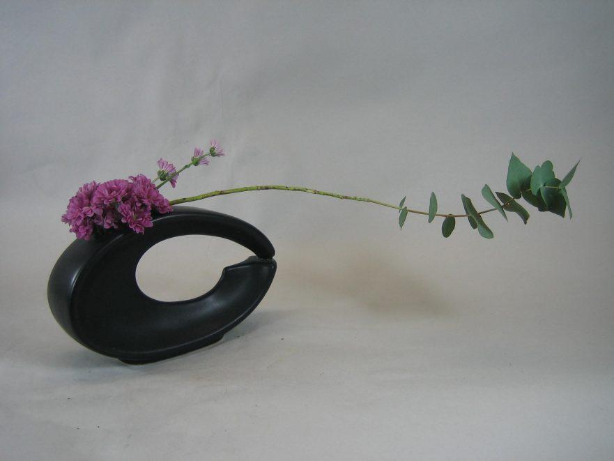 Ikebana, Sogetsu, freies Arrangement (von Ursula Winand)